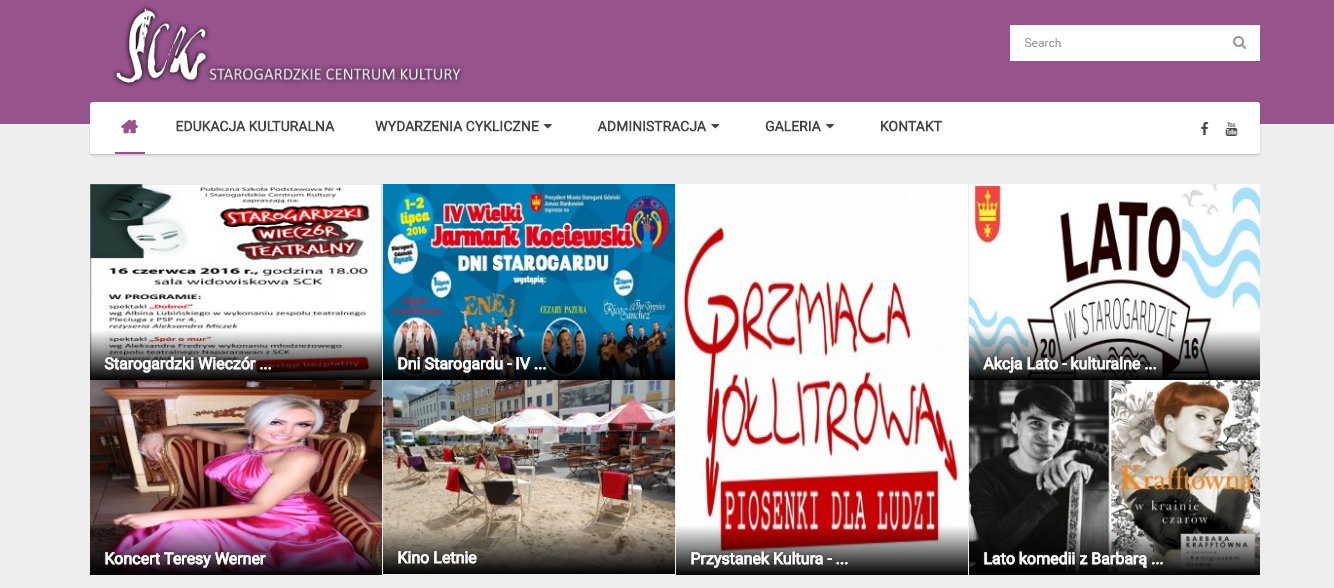 strony internetowe sck